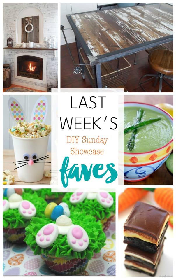 DIY Sunday Showcase Features