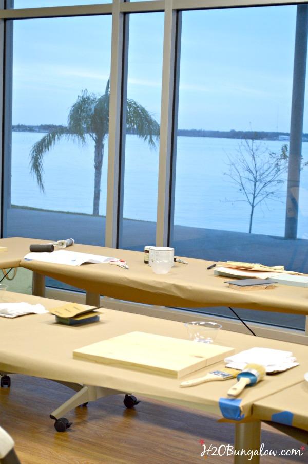 Madeira Beach Rec Center Furniture Painting Classes