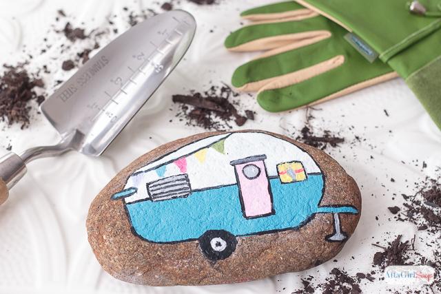 vintage-camper-painted-rocks-