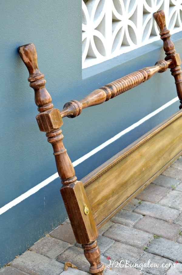 Bed spindles for DIY wood pedestal bowl H2OBungalow