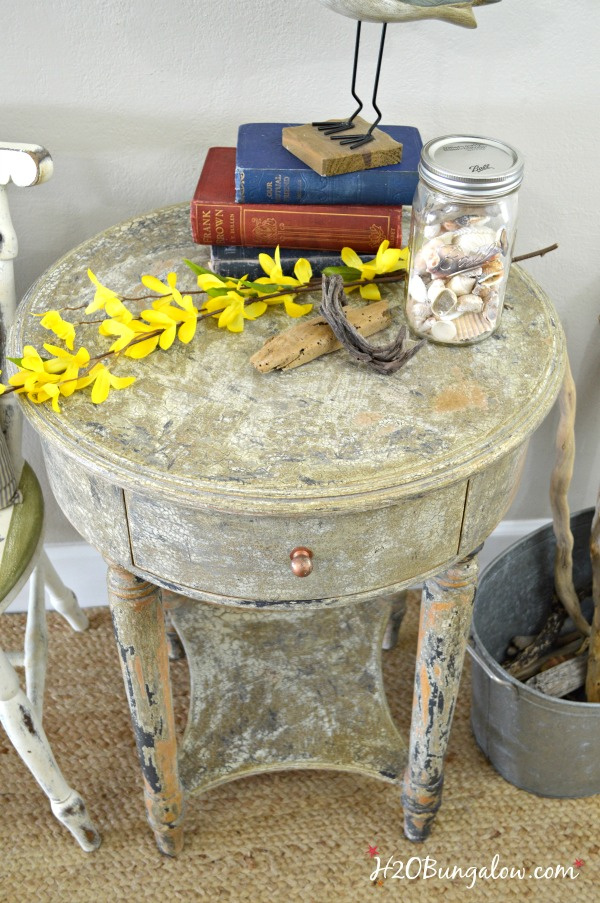 diy furniture makeover full tutorial. Aged Chippy Paint Finish Tutorial For A Furniture Makeover With Stamped Drawer. Step By Diy Full