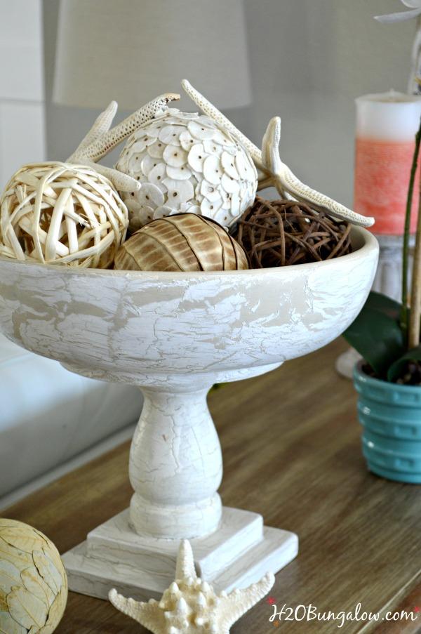 DIY tutorial for bed spindle pedestal bowl
