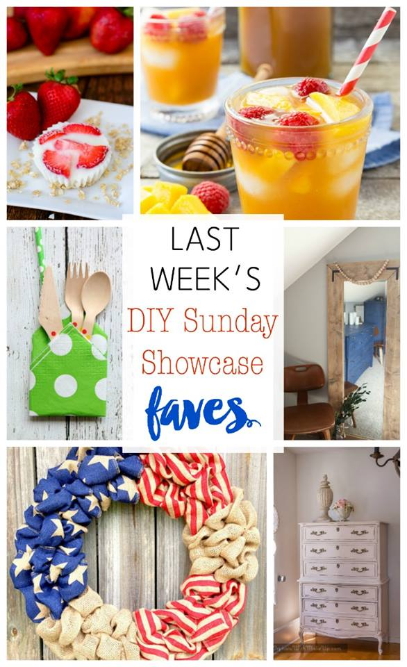 DIY Sunday Showcase features of the week. Stop by and see all of them! H2OBungalow