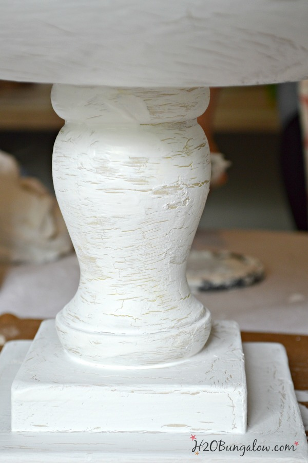 Light-crackle-finish-with-thin-layer-of-glue-H2OBungalow
