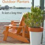 3 Tips for Spray Painting Outdoor Planters