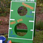 Fl Gators DIY Football Toss Game For Home Depot DIY Workshop