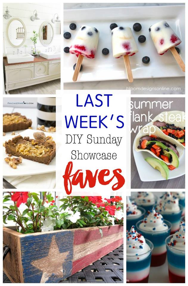 DIY Sunday Showcase features for the week stop by H2OBungalow to see them all and find the links