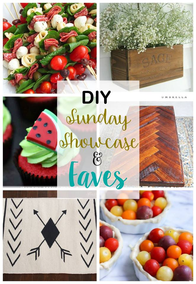 DIY Sunday Showcase features for the week Stop by and see al our talented features at H2OBungalow.com