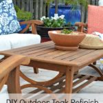 Restore Outdoor Teak Furniture Tutorial