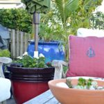 DIY Planter Umbrella Stand Tutorial
