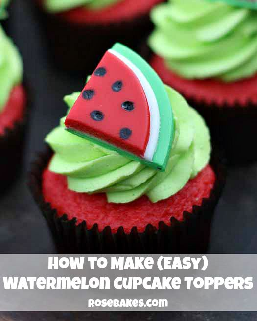How-to-Make-Easy-Watermelon-Cupcake-Toppers-by-Rose-Bakes