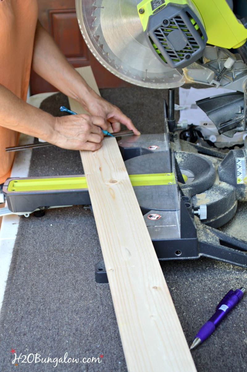 cutting boards for DIY football toss game