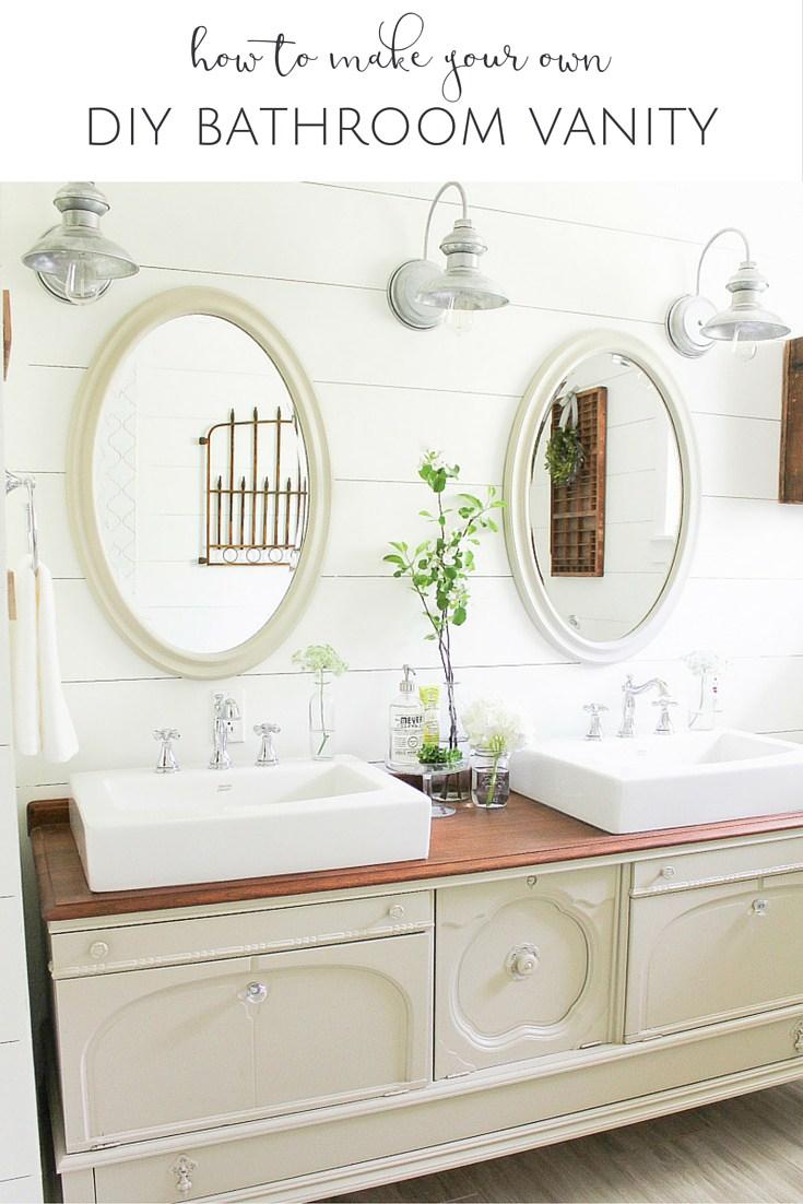 Who Sells Bathroom Vanities. Make Your Own Bathroom Vanity