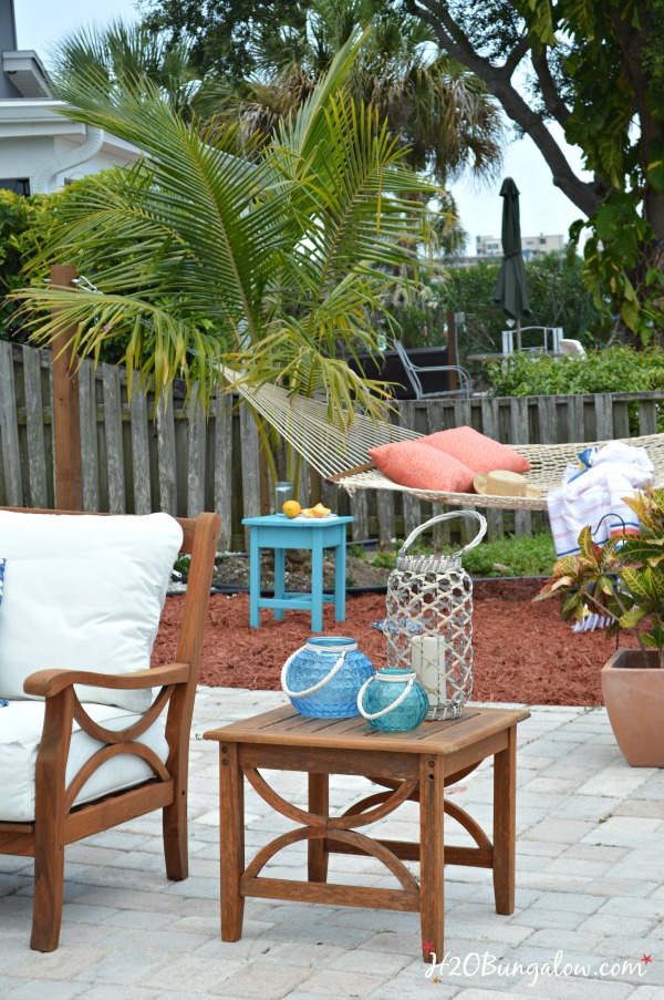Diy Backyard Makeover Projects Reveal H2obungalow