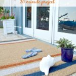 Easy DIY Painted Doormat Tutorial