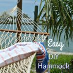 How to Build A Hammock Stand From Posts