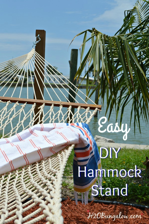 Hammock Stand Designs : How to build a durable diy hammock stand from posts