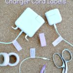 Easy 5 Minute DIY Charger Cord Labels