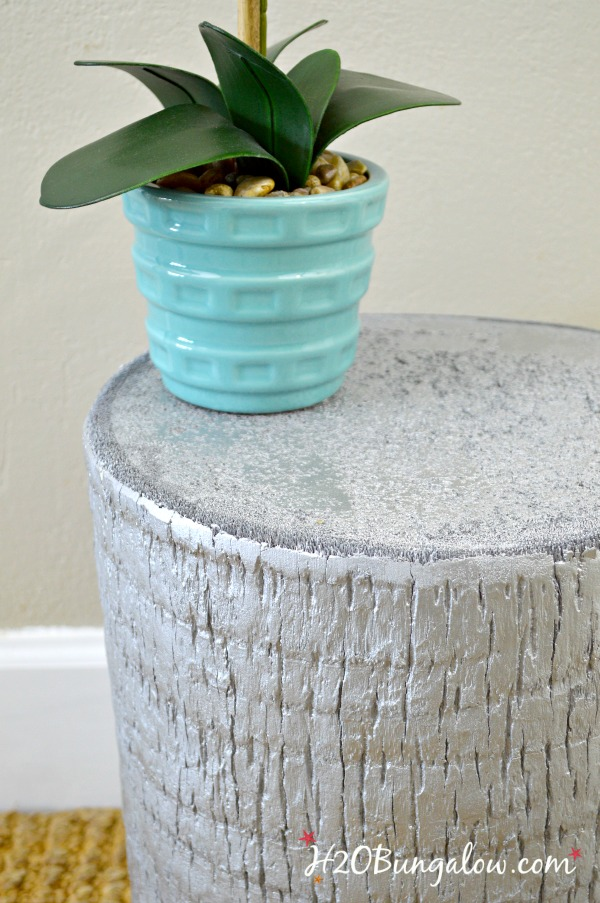 Zgallerie Inspired Silver Tree Trunk Table H20bungalow