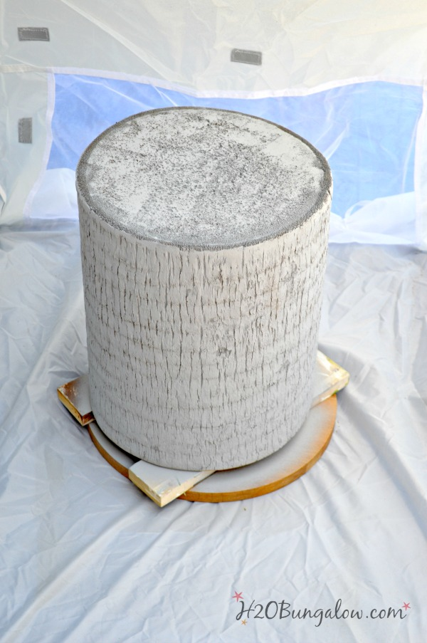 ZGallerie Inspired Silver Tree Trunk Table H2OBungalow