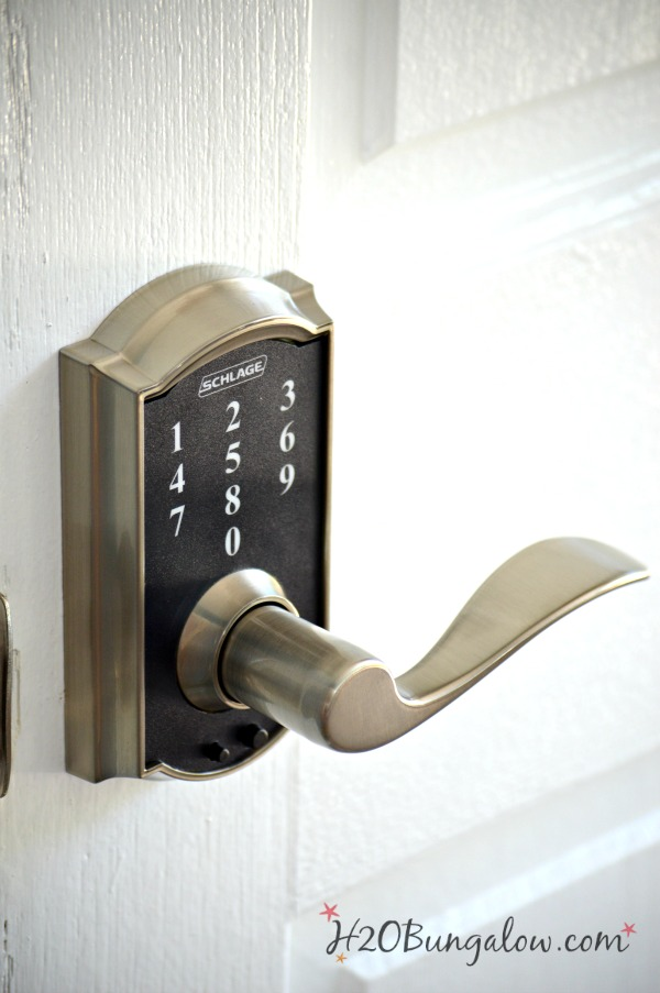 The top 5 smart reasons to have a keyless entry also known as keyless deadbolts. Easy to install, saves money, useful safety features are a few of the top reasons. Read more to see why this may be a good choice for you and your family. H2OBungalow