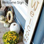 Indoor Outdoor Large DIY Wood Welcome Sign
