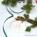 Cornstarch Dough Christmas Ornaments And Recipe