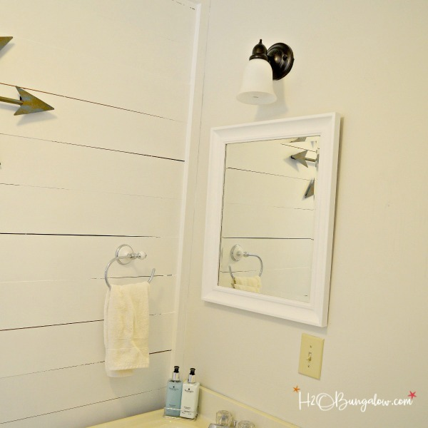 Can You Paint Bathroom Light Fixtures how to paint a metal light fixture - h20bungalow