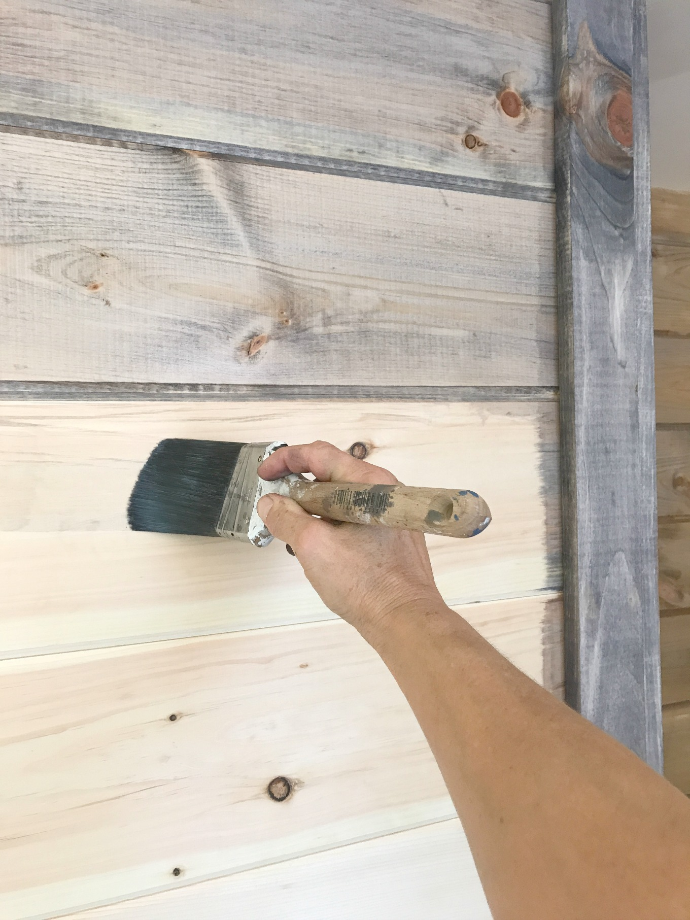 Diy Shiplap Vs Planked Wood Walls H2obungalow,How To Clean A Kitchen Sponge