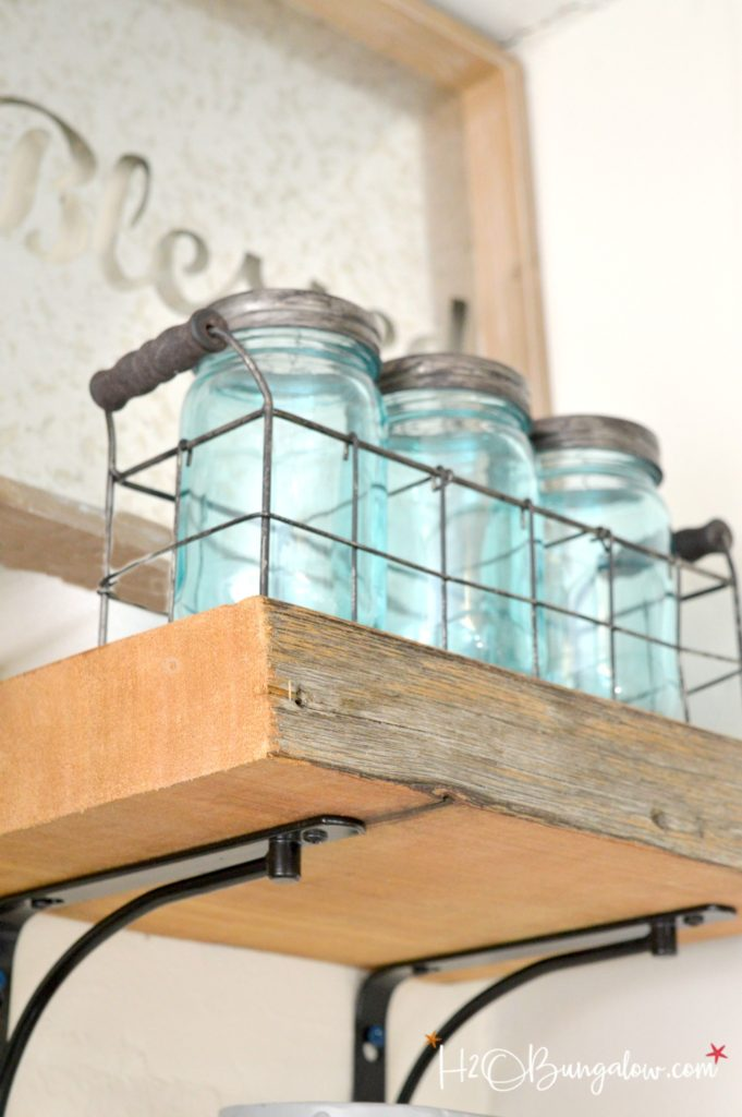 Tips For Hanging Thick Wood Shelves H20bungalow