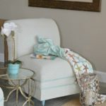 Painted Upholstered Chair Makeover Tutorial