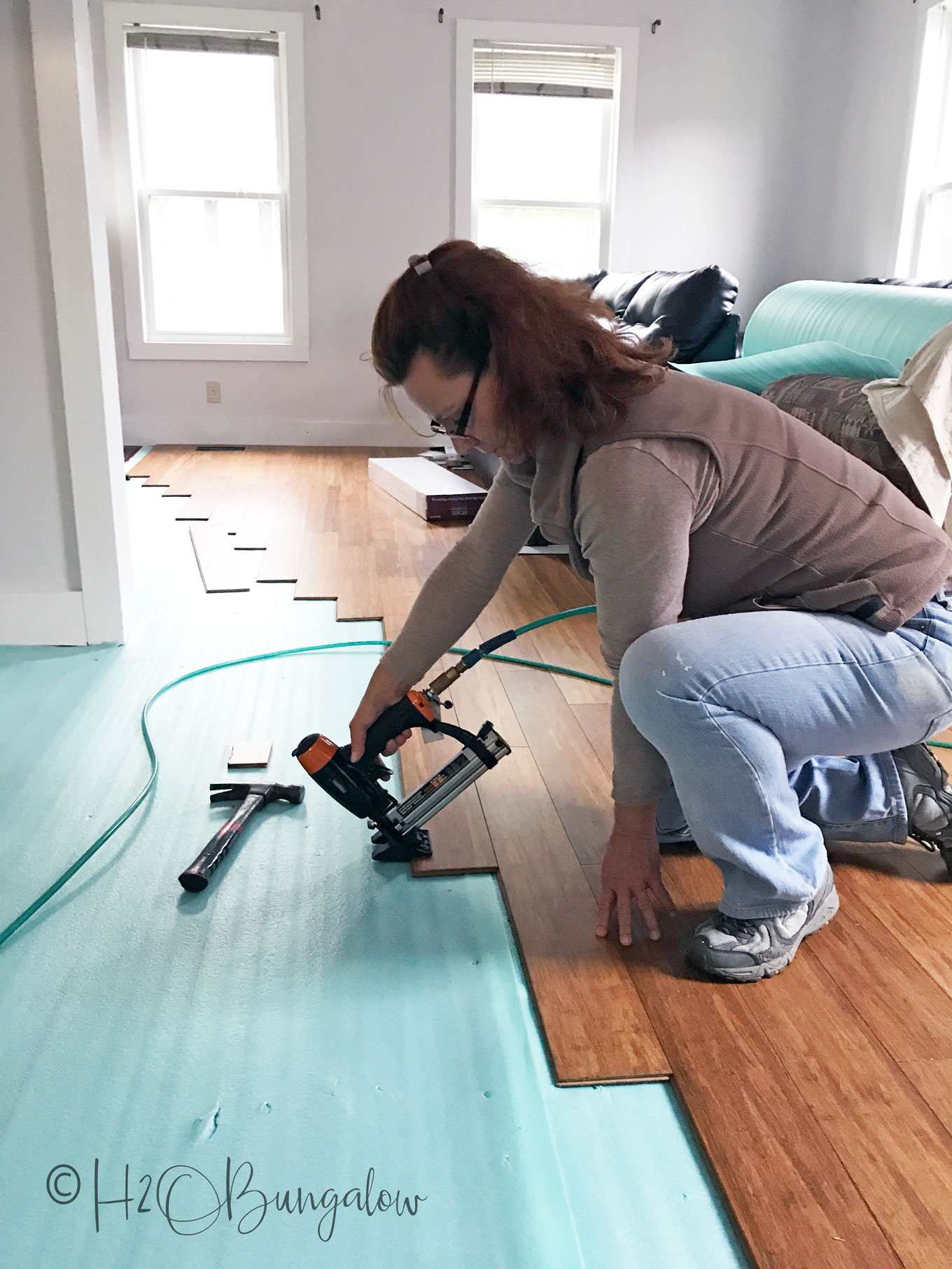 Questions to ask a handyman before hiring along with useful ideas on how to keep the cost down when hiring help for a home improvement project.