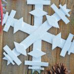 DIY Wooden Snowflake