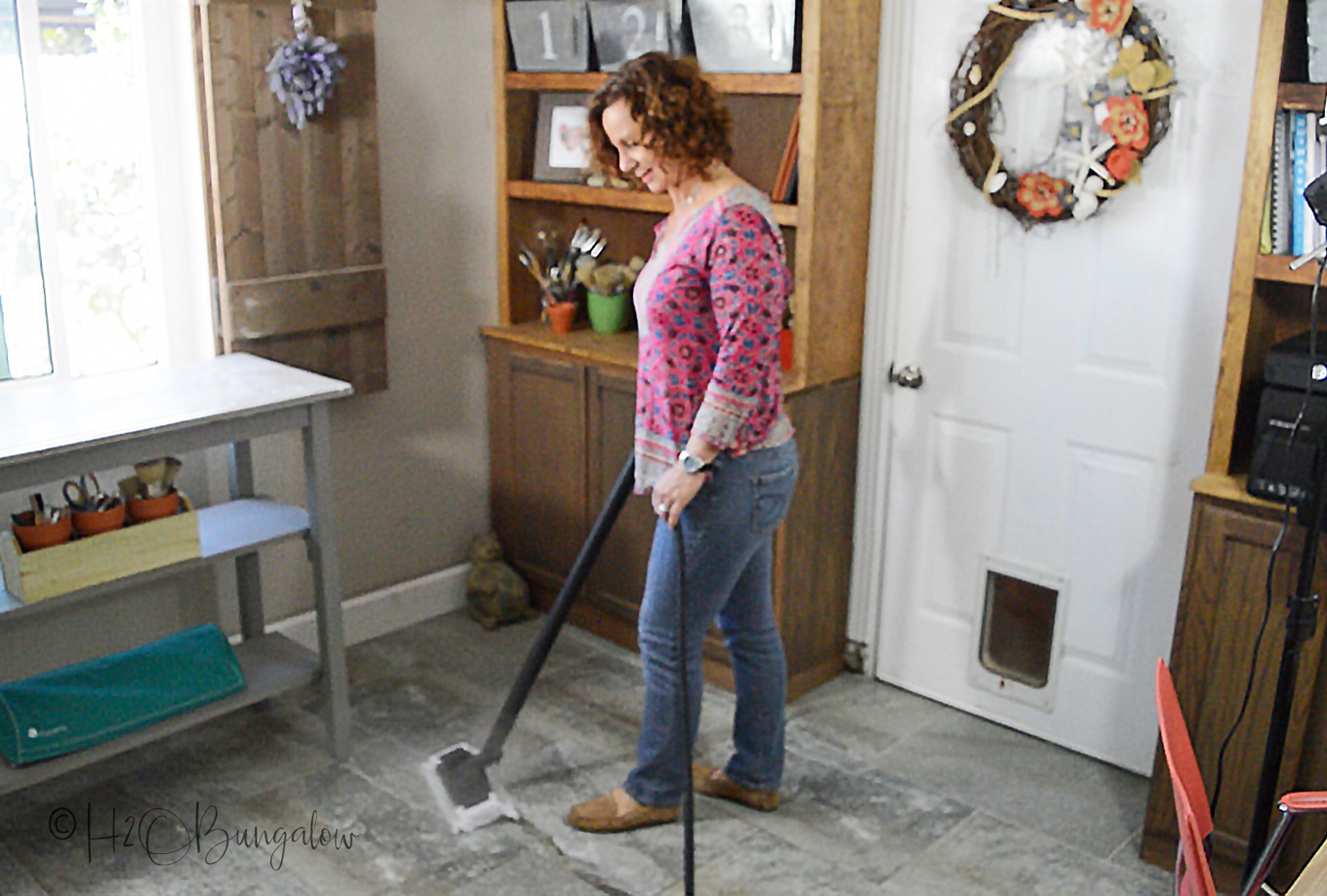 Deep Clean Tile Floors With Steam H20bungalow