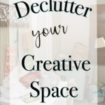 It's time in my house, is it time in yours?  I'm talking about getting it together to clean up your act and a creative space reorganization challenge.  Not only am I tackling my own creative space, but a group of bloggers and generous sponsors got together to create the ultimate declutter and organize challenge!