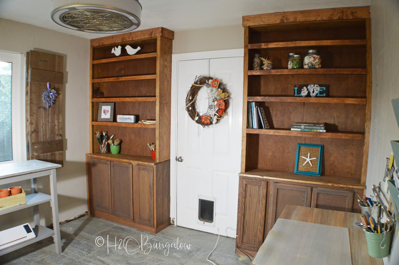 How To Build Built In Bookcases With Cabinets Is A Detailed Diy Tutorial Lots Of