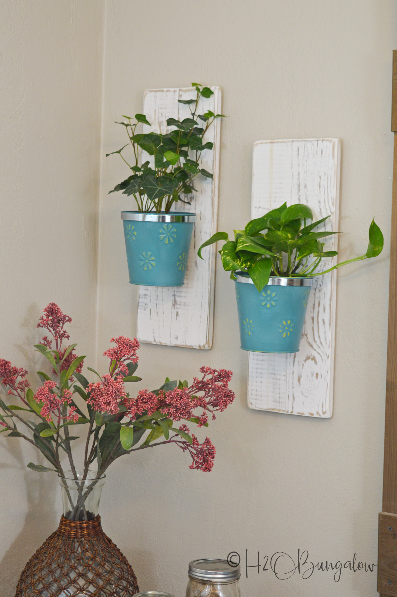 Diy Wall Hanging Planters H20bungalow