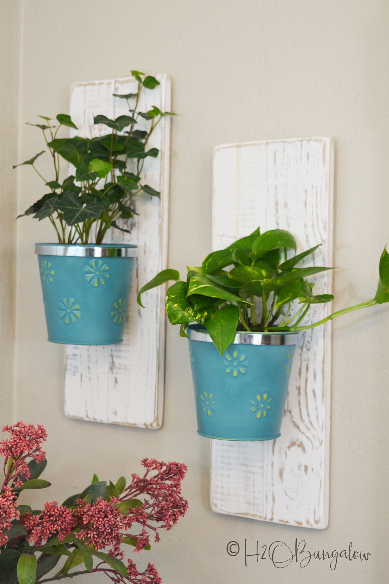Diy Wall Hanging Planters H2obungalow