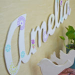 DIY Large Wood Name Cut Out