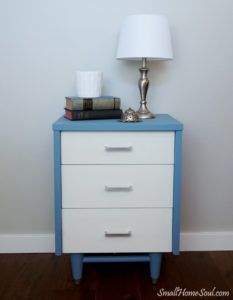 Blue Painted Dressers