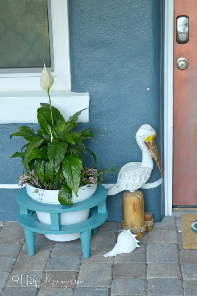 Diy Mid Century Modern Plant Stand H20bungalow