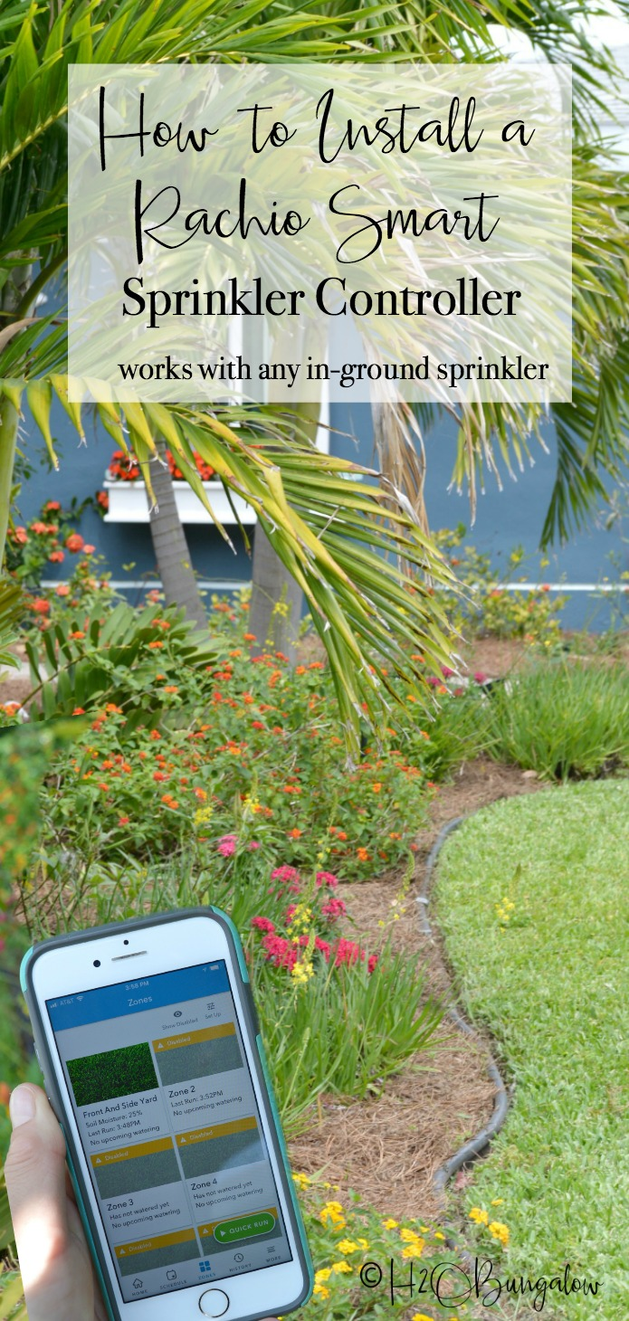 I just installed a Rachio 3 Smart Sprinkler Controller for my butterfly garden and yard and I'm seriously loving it!  I can program my watering days, times and make adjustments right on my phone. It works with our local weather forecast to adjust the watering times. It was easy to install, is compatible with any in-ground sprinkler system.
