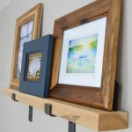 Rustic Modern DIY Picture Ledge: Part One