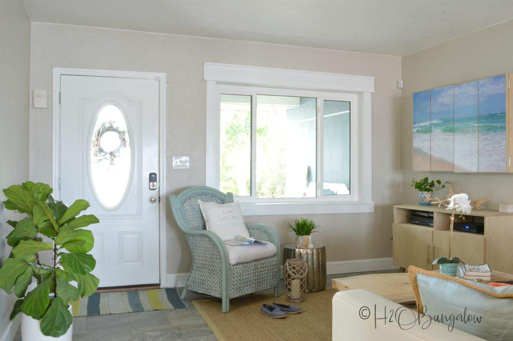 Simple Diy Craftsman Style Window Trim Tutorial H2obungalow
