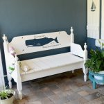 How to Paint Graphics on Furniture: Whale Bench Makeover Part 2