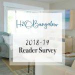 Reader Survey for 2018-2019