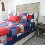 DIY Rustic Headboard Out of Shiplap