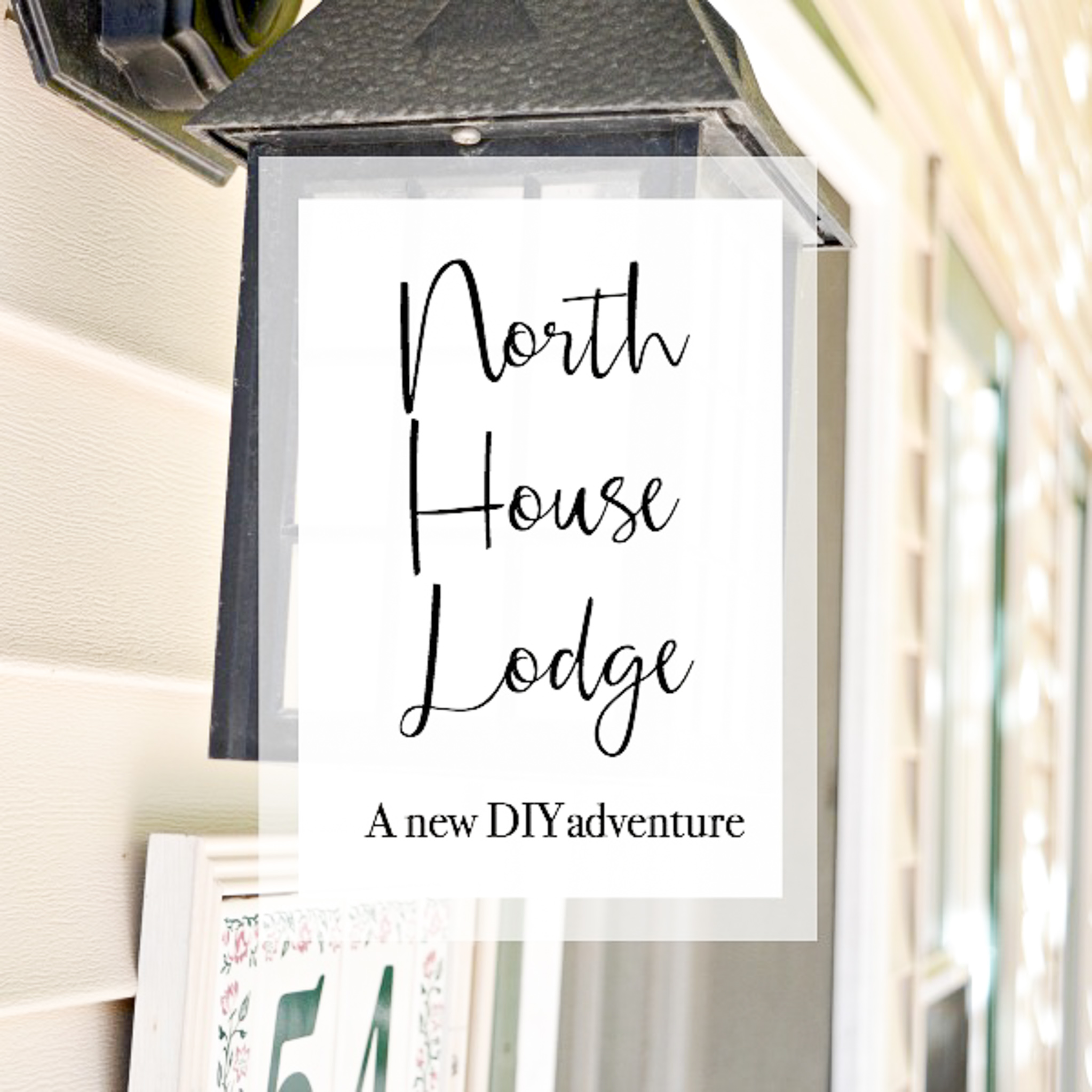 Home tour of the North House North Lodge, a New England getaway, vacation rental and DIY Blogger, H2OBungalow project DIY house nestled in Okemo Mountain in Ludlow VT.