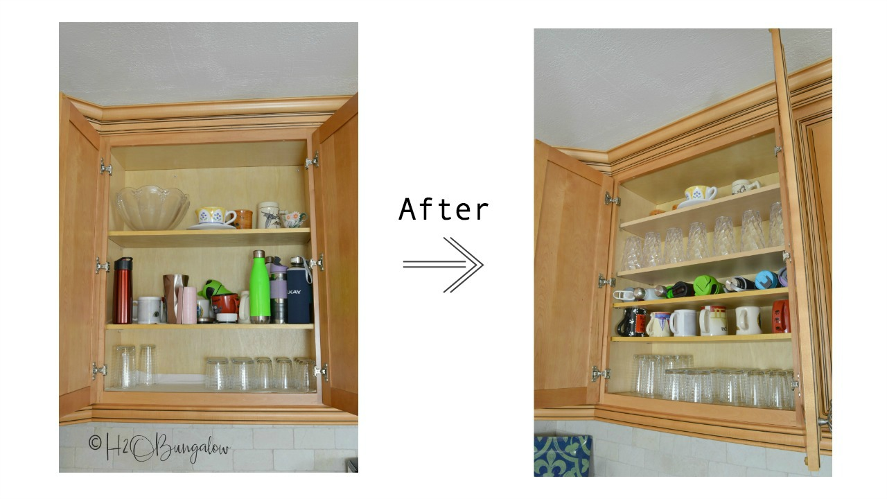 kitchen shelves and cabinets how to add shelves to kitchen cabinets h2obungalow 7524