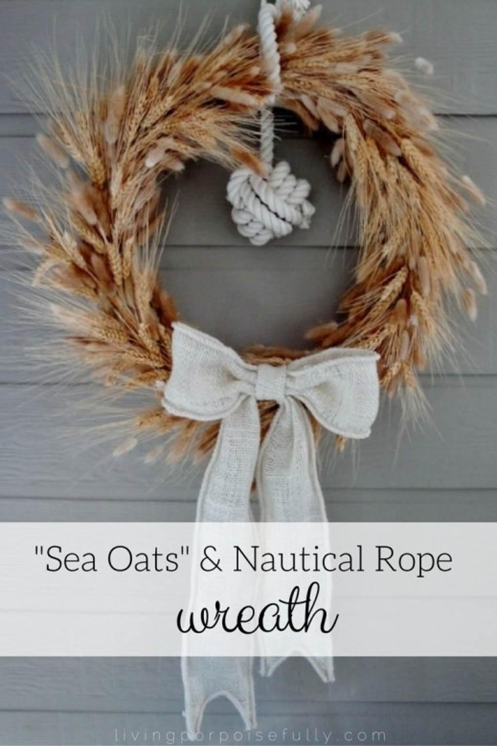 all wreathe coastal decor idea